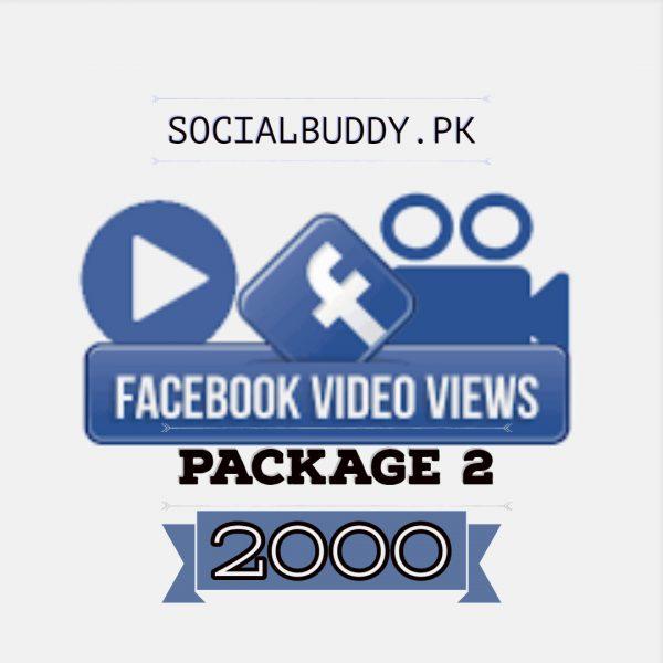 Facebook Video Views Buy in Pakistan