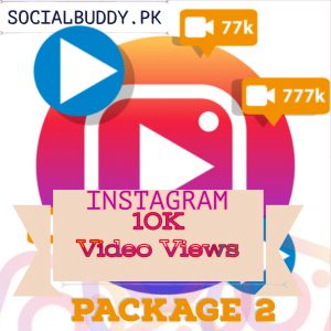 Instagram Video Views Buy in Pakistan