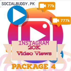 Instagram Video Views Buy in Pakistan