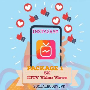 Instagram IGTV Video Views Buy in Pakistan