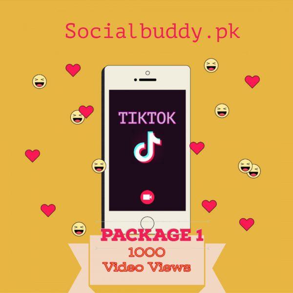 TikTok Video Views Buy in Pakistan