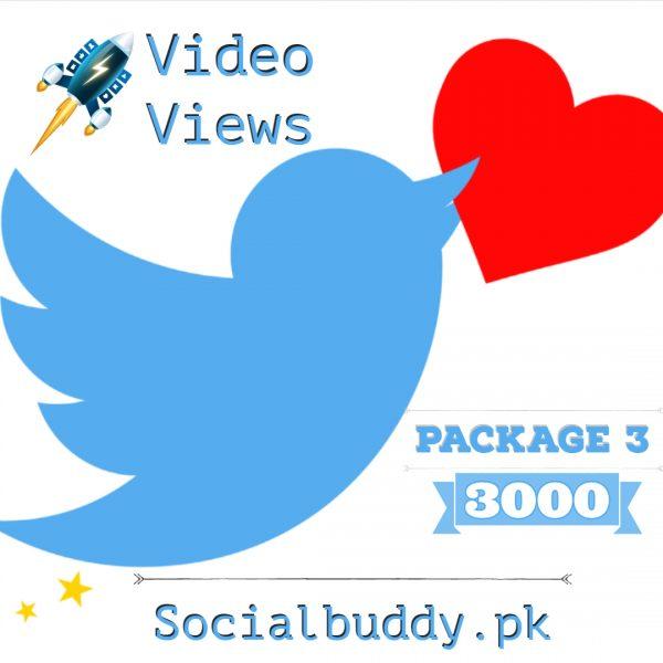 Twitter Video Views Buy in Pakistan