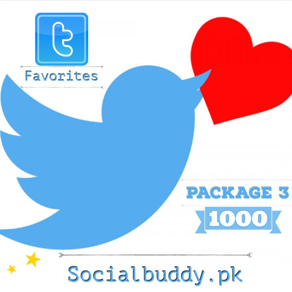 Twitter Favorites Buy in Pakistan
